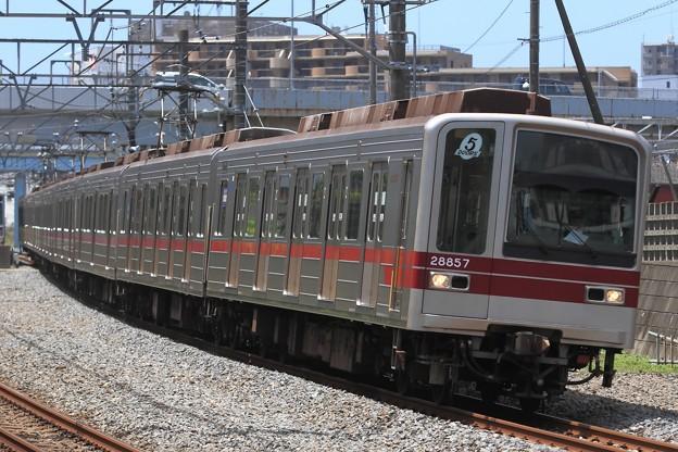 臨回5631レ 東武20050系21857F 8両
