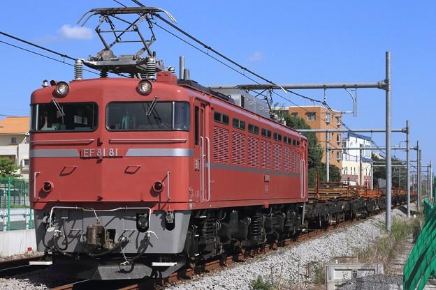 工9773レ EF81 81+チキ