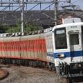 臨回5544レ 東武8000系8506F+81107F 8両