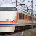 1031レ 東武100系104F 6両