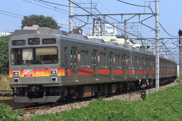 104131レ 東急9000系9012F 5両