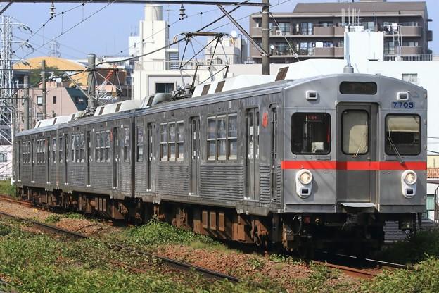 009141レ 東急7700系7905F 3両