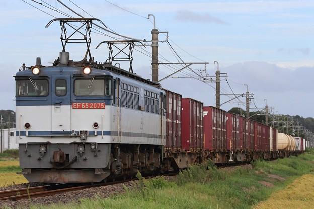 1092レ EF65 2075+コキ