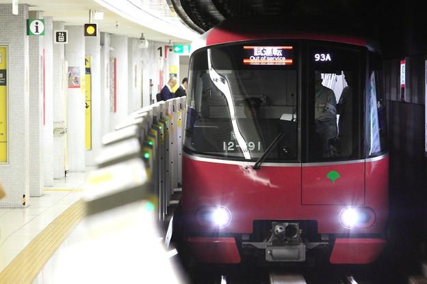 1293A1 都営12-600形12-691F 8両