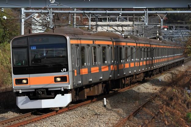 試9533M 209系八トタT81編成 10両