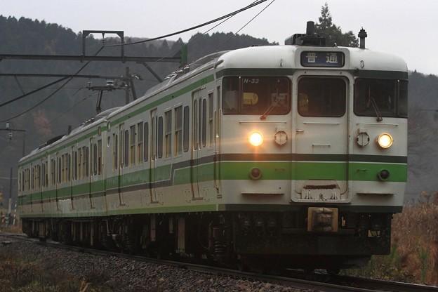 129M 115系新ニイN33編成 3両