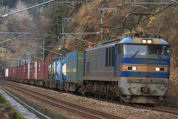 4091レ EF510 503+コキ