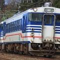 Photos: 回1772D キハ40-2020+キハ40-2023