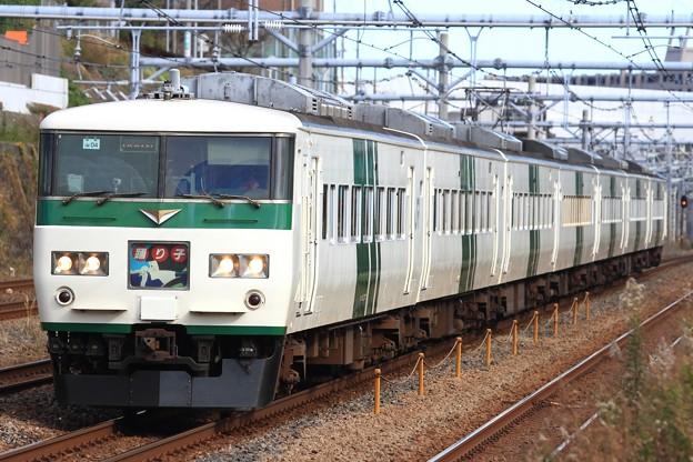 8031M 185系宮オオOM04編成 7両