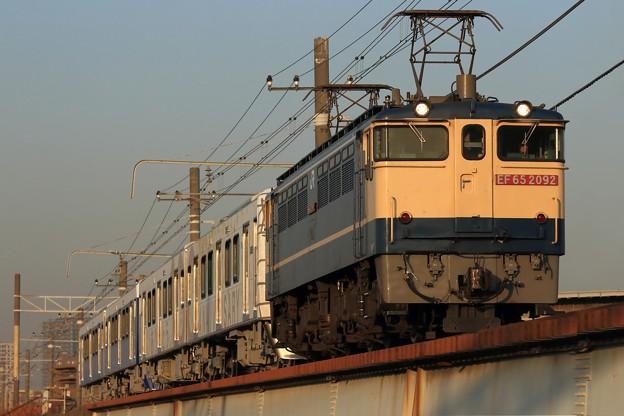 9883レ EF65 2092+静岡鉄道A3000形A3006F+A3005F 4両