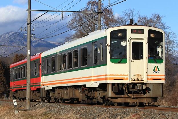 3156レ 会津鉄道AT-601+AT-751