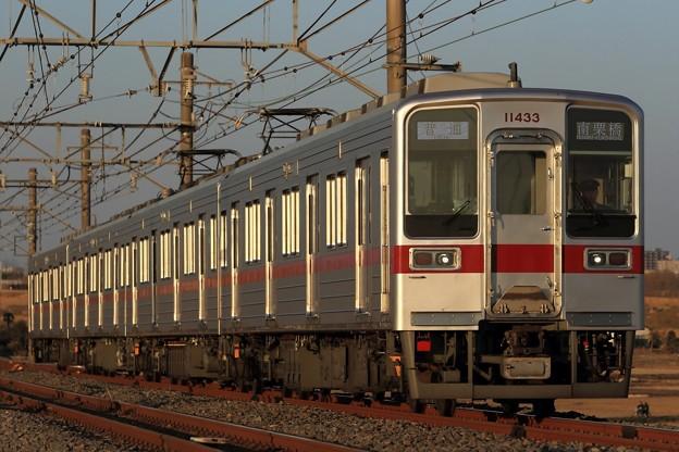248レ 東武10030系11433F 4両