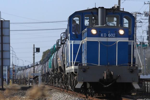 204レ KD60 2+タキ