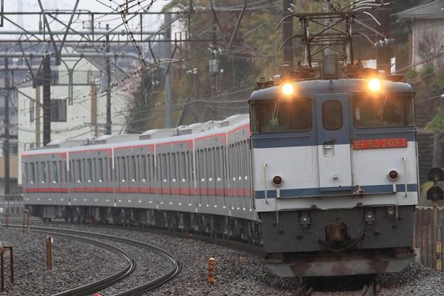 8860レ EF65 2083+東武70000系71715F 7両