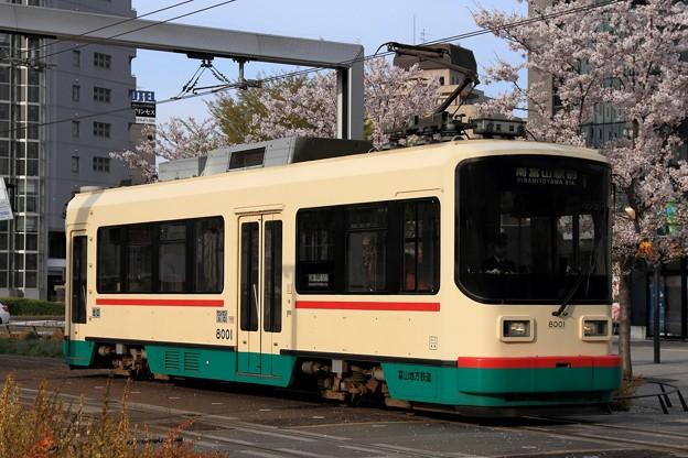 9レ 富山地鉄デ8000形 デ8001号車