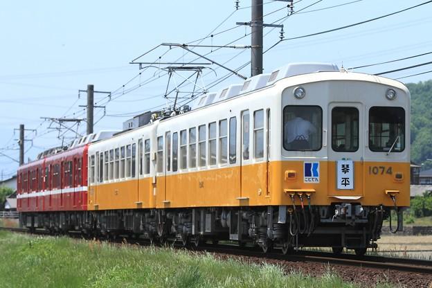 3221レ 高松琴平電鉄1080形1081F+1070形1073F 4両