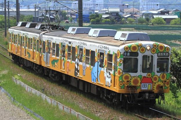 34レ 高松琴平電鉄1200形1213F 2両