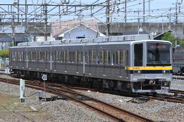 試7202レ 東武20400系21432F 4両