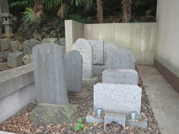 名馬たちの墓碑