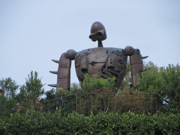ジブリ美術館屋上のロボット兵