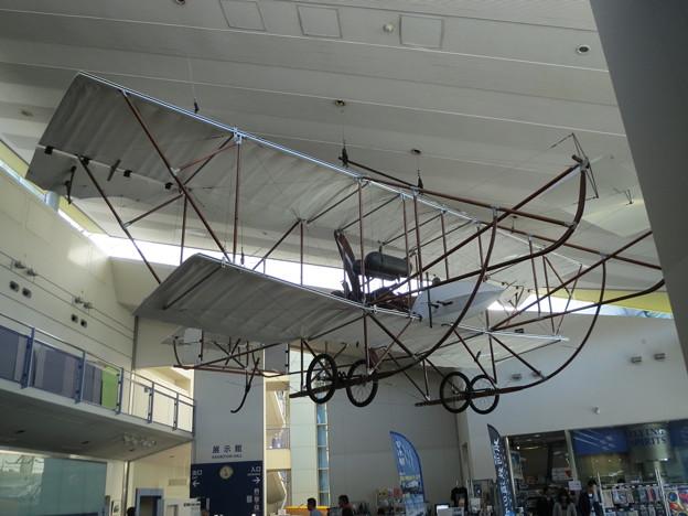 初の国産軍用機「会式1号」