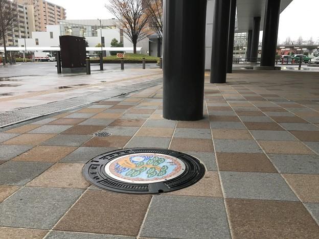名取駅前ののマンホール蓋