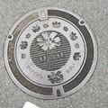 Photos: 貝塚市のマンホール蓋