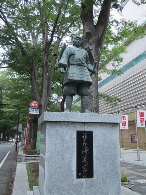 八幡太郎義家公像