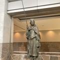 ルネ小平・平櫛田中の彫刻(五浦釣人)