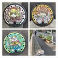 渋谷区デザインマンホール2