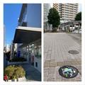 小金井市 「桜水(おうすい)くん」がデザインされたマンホール蓋