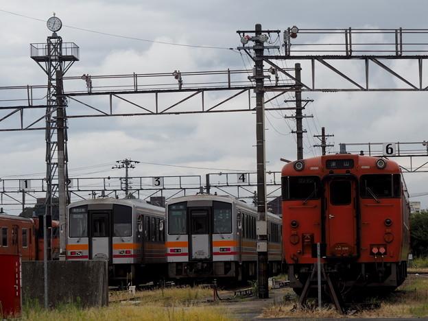 津山駅車両