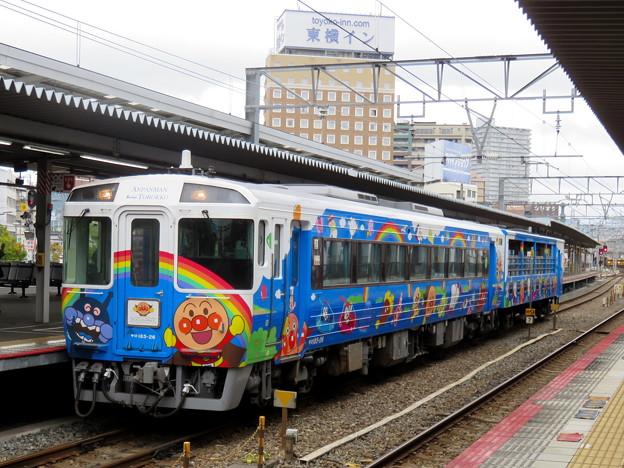 キハ185系 アンパンマントロッコ列車