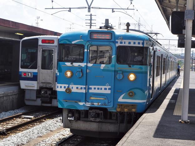 115系 D-07編成「SETOUCHI TRAIN」