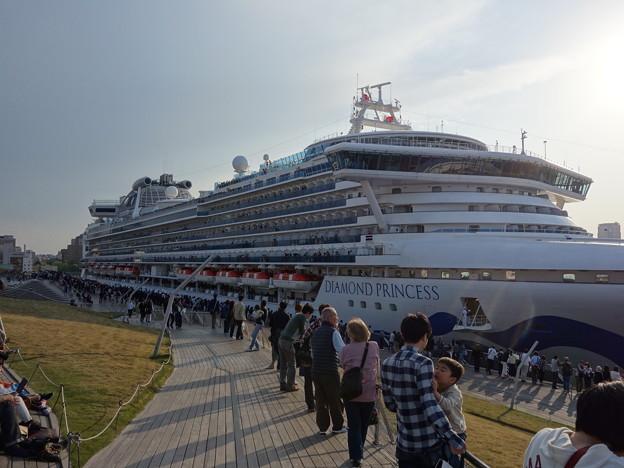 大型客船ダイヤモンド・プリンセス号 (横浜市中区海岸通)