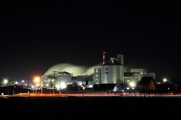 砂糖工場フル稼働