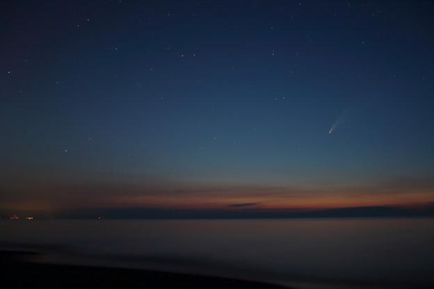 ネオワイズ彗星ゲット!