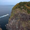 Photos: 知床秋色 ウトロ灯台とオーロラ2