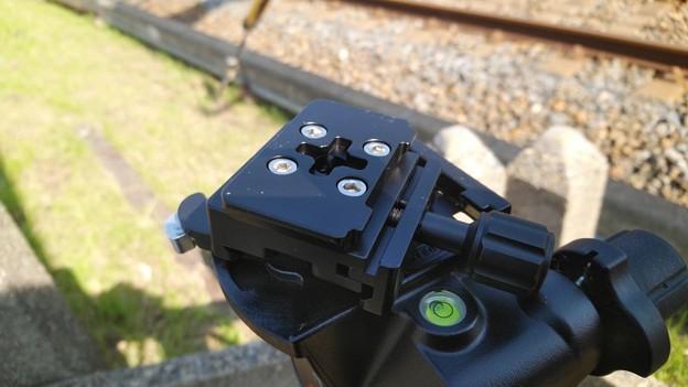 Photos: マンフロット410をアルカスイス互換に(1)