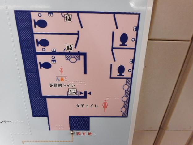 27-03 小田急町田駅女性用トイレ(01)案内図