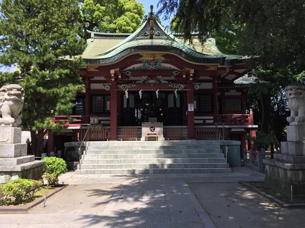 4月_葛西神社 2