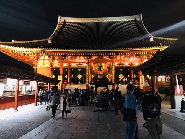 11月_浅草寺 1