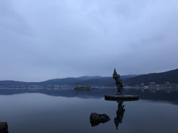 12月_諏訪湖 2