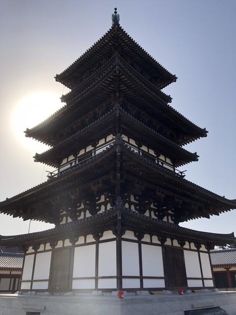 3月_薬師寺 a