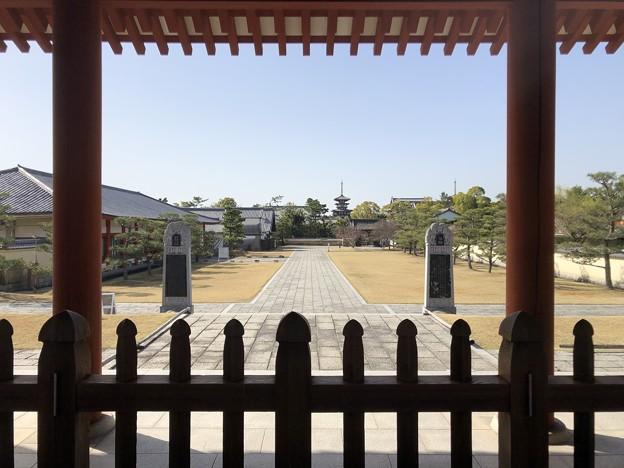 3月_薬師寺 j