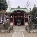 Photos: 12月_筑土八幡神社 1