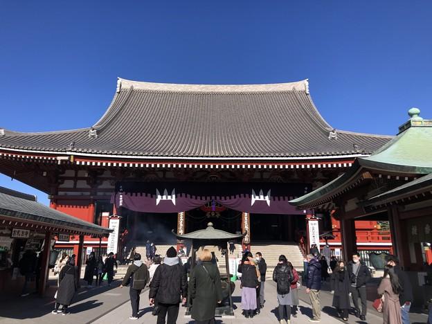 1月_浅草寺 3