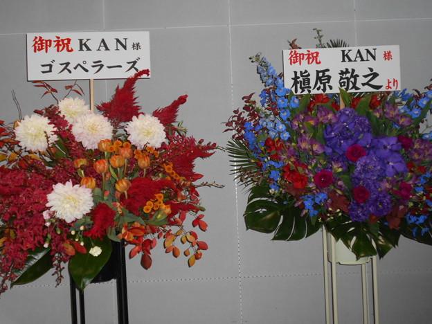 1122-KAN-BandLive2019-東京-お花
