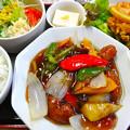 Photos: てんしん中華店 日替ランチ 酢豚 広島市南区的場町 Tianjin