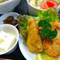 Photos: てんしん中華店 日替ランチ 副菜 唐揚 小鉢 サラダ 広島市南区的場町 Tianjin